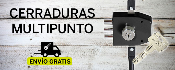 CERRADURA ALTA SEGURIDAD MULTIPUNTO