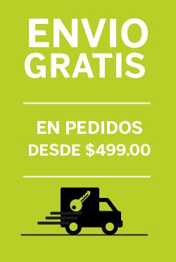 Envió sin costo a todo México. Pedido mínimo $499.00