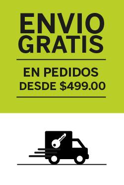 ¡Envíos gratis a todo México! Pedido mínimo $499