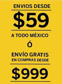 ¡Envíos desde $59 pesos a todo México!